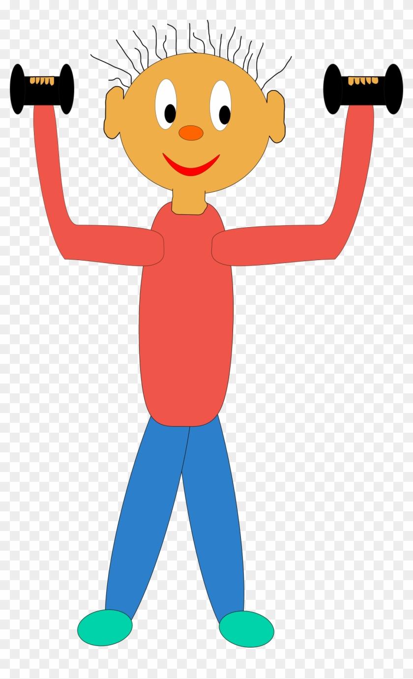 Strengthen - Kids Exercising Clip Art #142566
