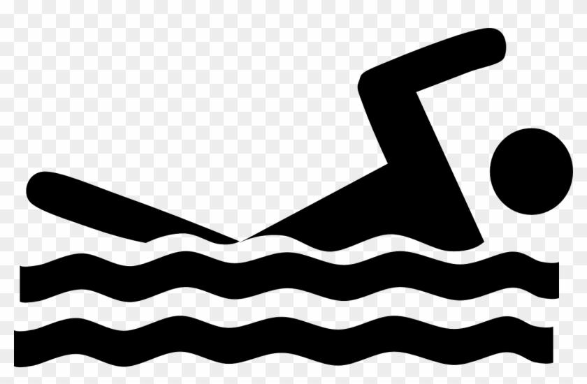 Quick Workout Swimming - Swim Clip Art Black And White #142671