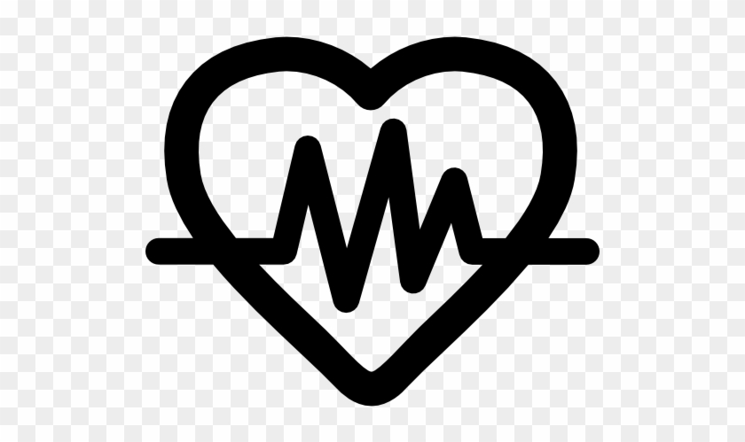 Size Heart With Lifeline Icon Free Transparent Png Clipart