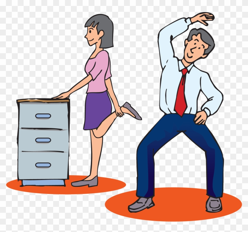 Exercise In The Workplace - Stretching Exercises At Work #142959