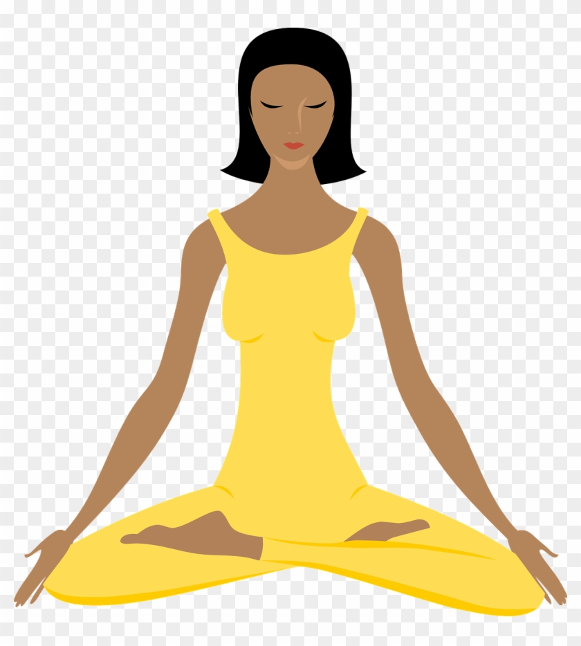 Yoga Female Exercise Fitness Healthy Lifestyle - Free Clipart Yoga #142970