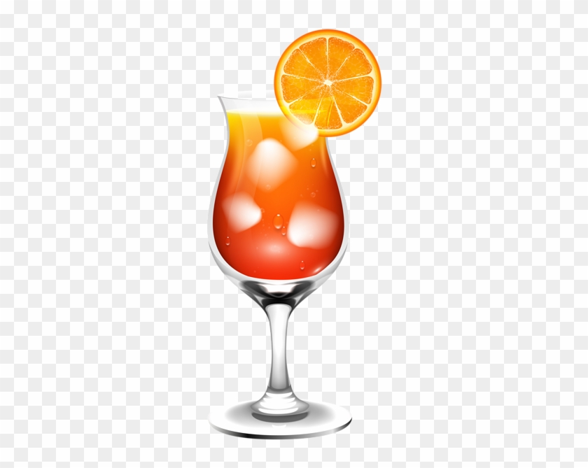 Drinks With Umbrella Transparent Background