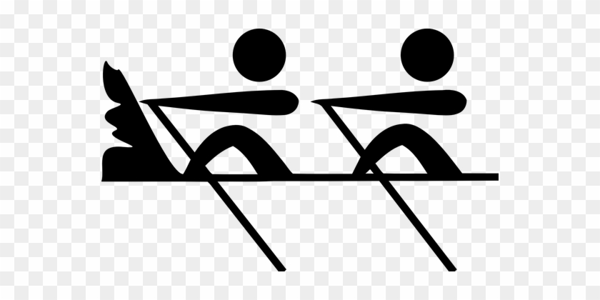 Rowing Row Group Sport Team Exercise Healt - Dragon Boat Icon Png #143140
