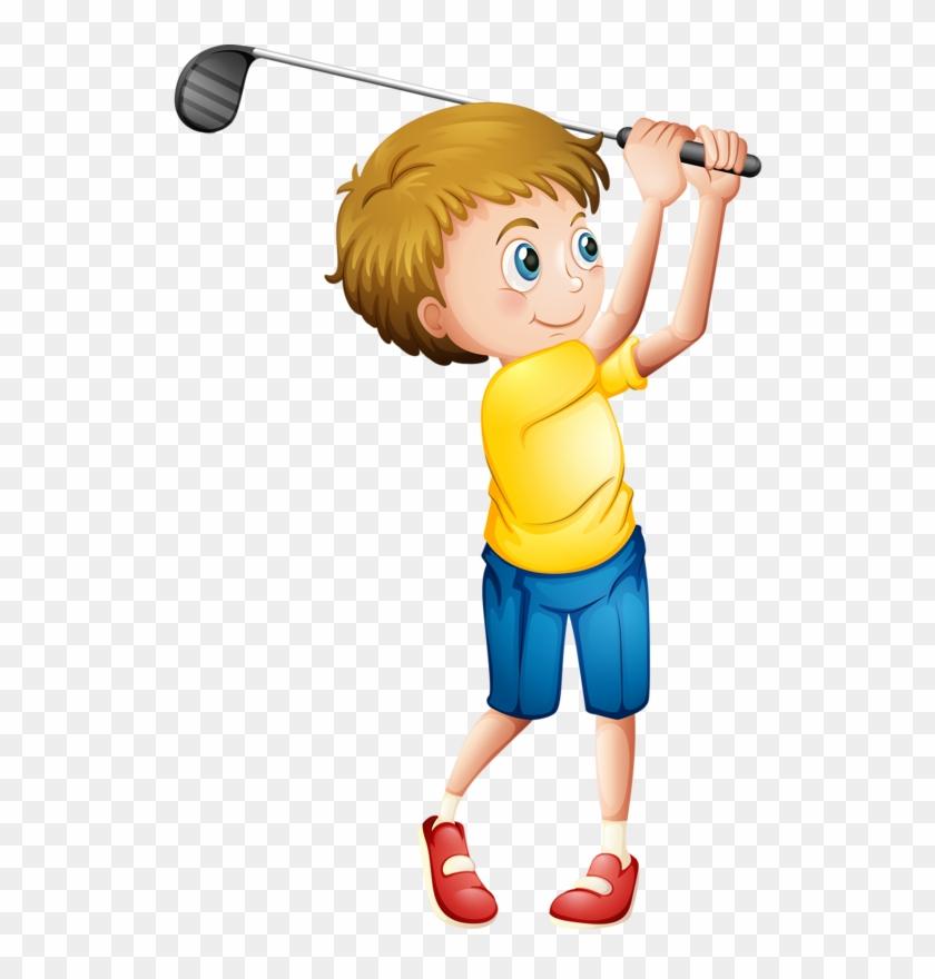 Яндекс - Фотки - Kids Golf Cartoon #143328