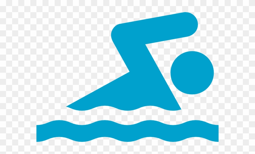 Blue Wave Swim Team - Swimming Clipart #143703