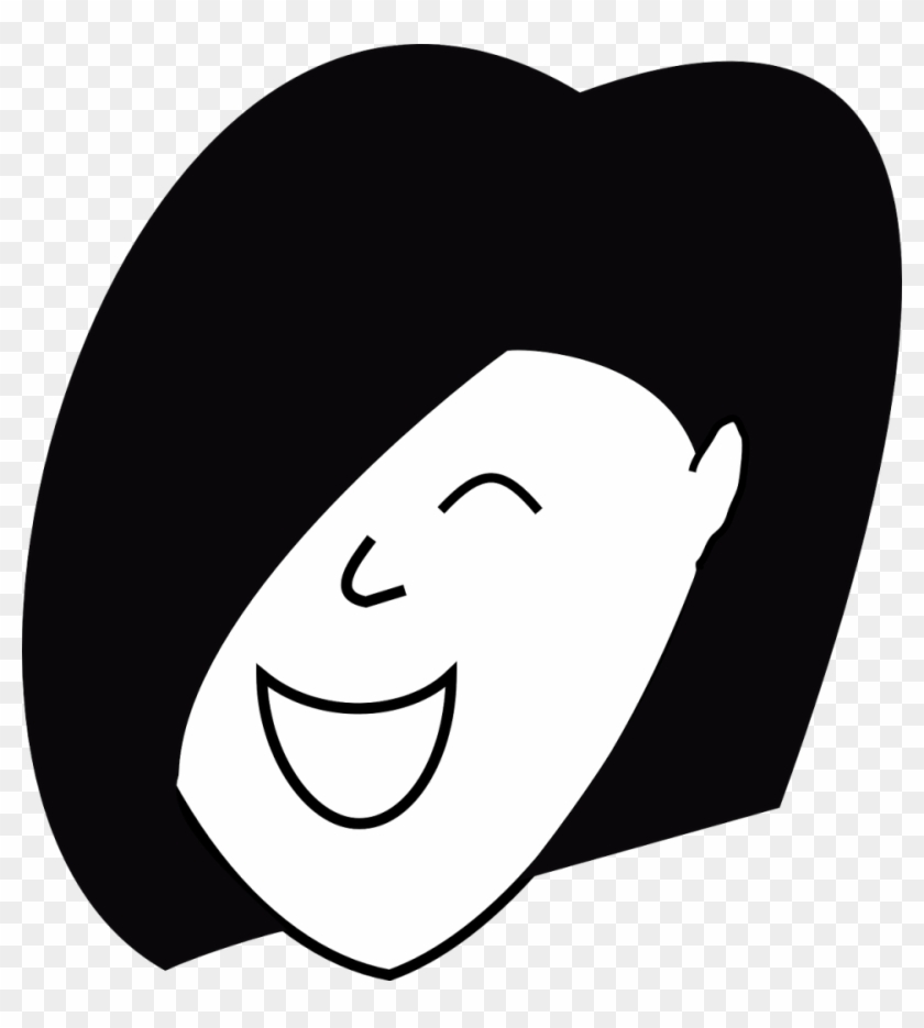 Happy Woman Clipart - Happy Human Clipart Face #143772