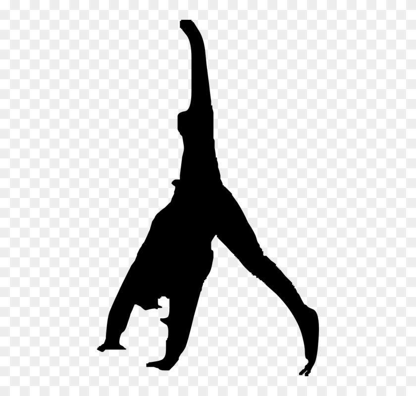 Flip Over, Gymnastics, Exercise - Flip Clipart #144281