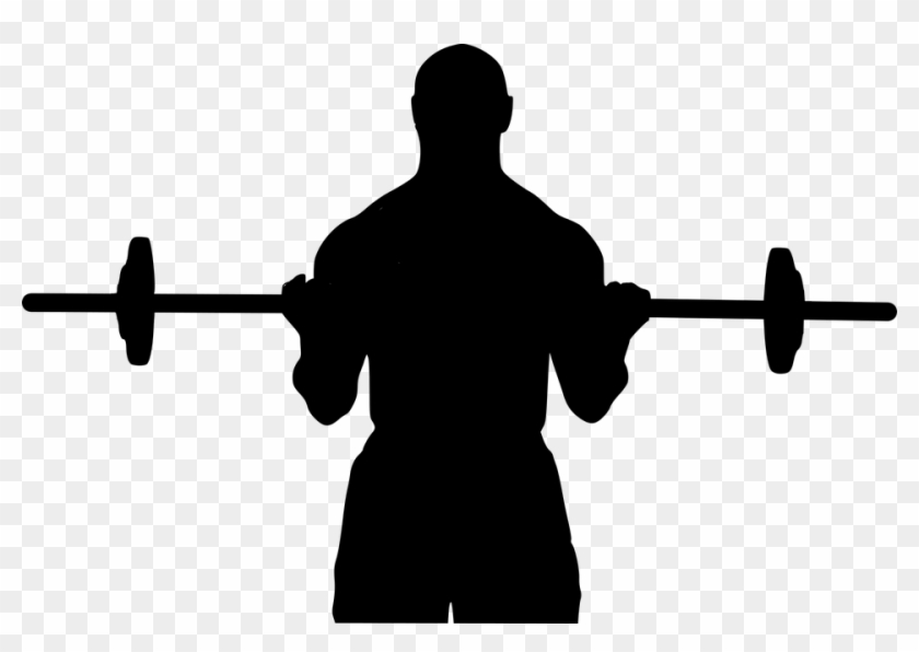 Free Photo Man Silhouette Fitness Sport Lifting Crossfit - Men Lifting Weights Png #144359