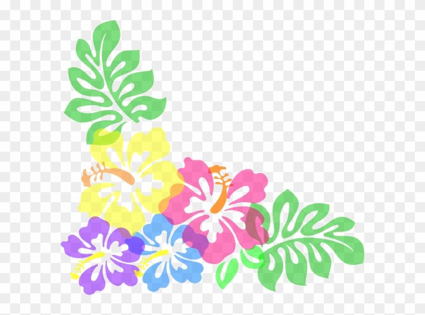 Luau Wallpaper - Clip Art Hawaiian Flower #145446