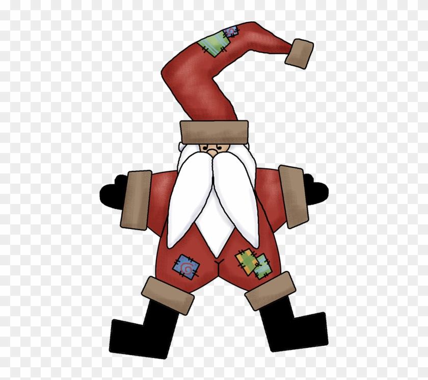 Santa Star Copy - Christmas Day #145630