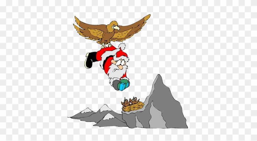 Funny Santa Christmas Image Reindeer Free Public Domain - Christmas Gift #145658