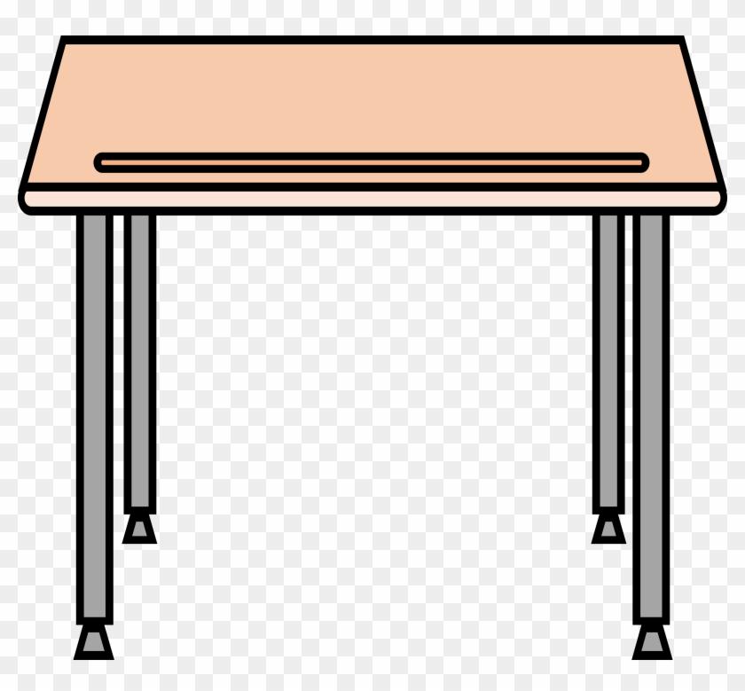 School Table Clipart - School Desk #145665