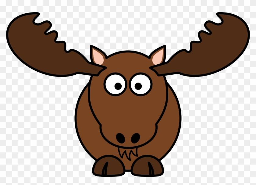 Clipart - Moose Cartoon #145724