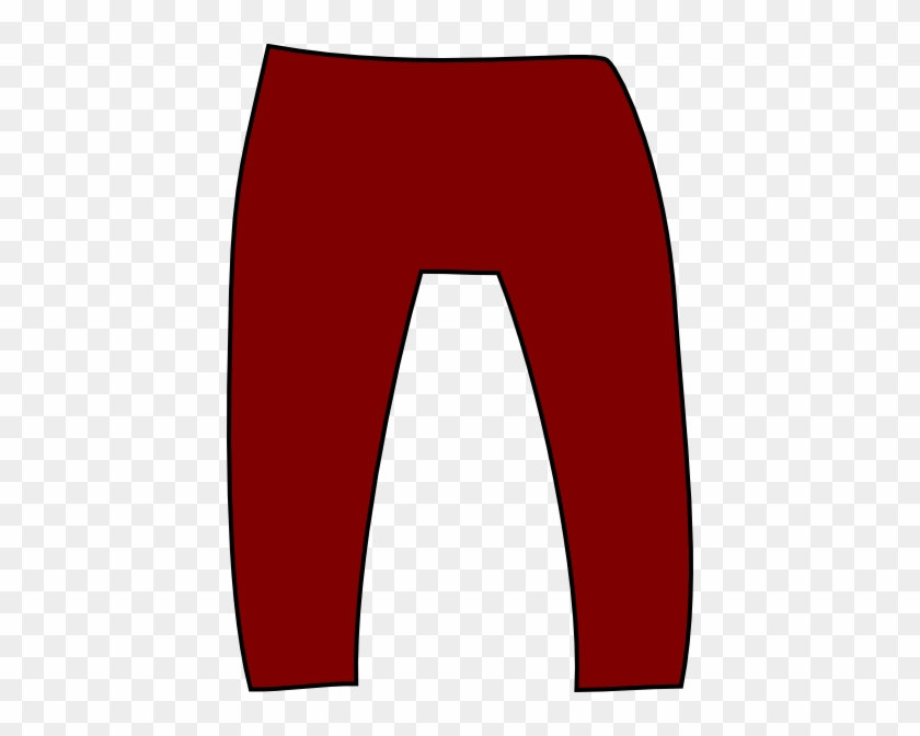Blue Pants Clipart - Red Pants Clipart #145787