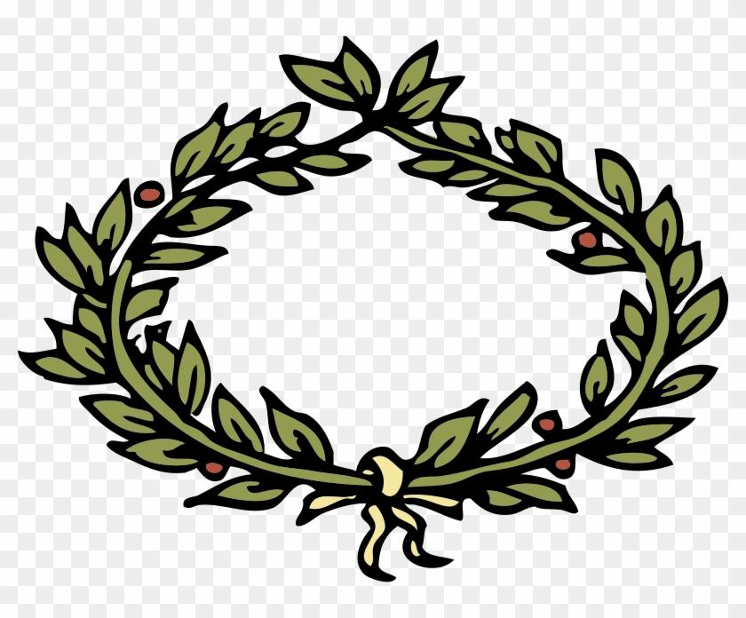 Free Wreath Free Laurel Crown - Leaves Crown Clipart #145962