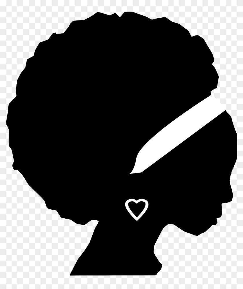 Woman Silhouette Art - African American Woman Silhouette #146005