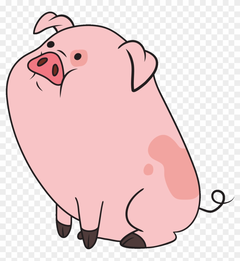Pictures Of Pig Clip Art - Cute Pig Cartoon Gif #146021