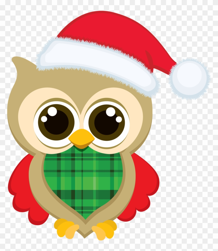 Images Of Owls Clipart - Cute Owl Christmas Clip Art #146147