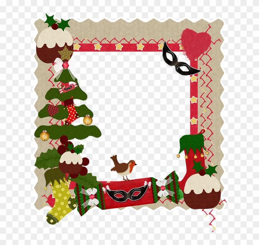 Christmas, Frame, Heart, Card, Holiday - Scream Christmas Pillow ...