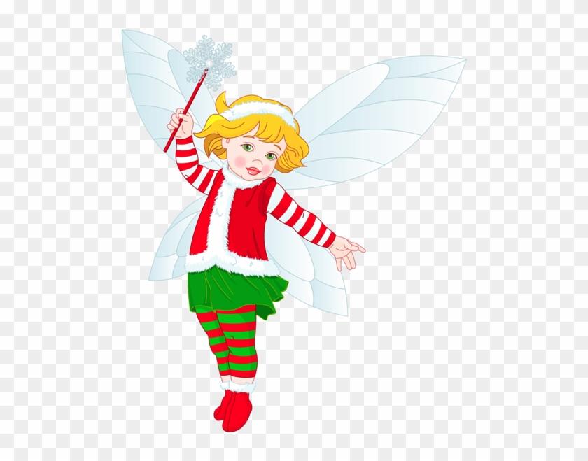 Elf - Christmas Fairy Transparent Background #146420