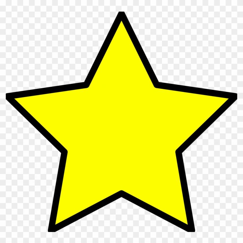 Christmas ~ Christmas Tree Star Clipart Yellow Xmas - Yellow Star Clipart #146636