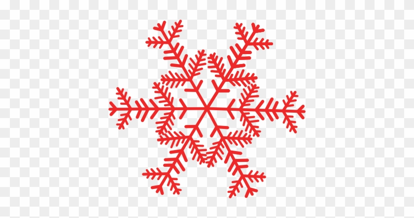 Red Snowflake Clip Art Images Pictures - Get Home For Christmas #146716