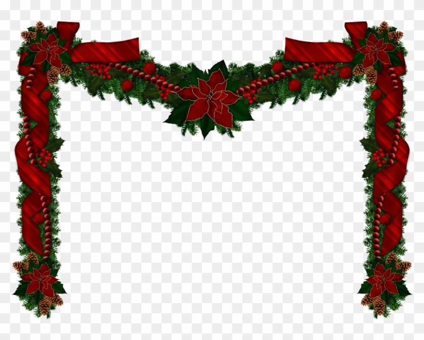 Christmas Garland Png Christmas Transparent - Christmas Garland Transparent Background #146742