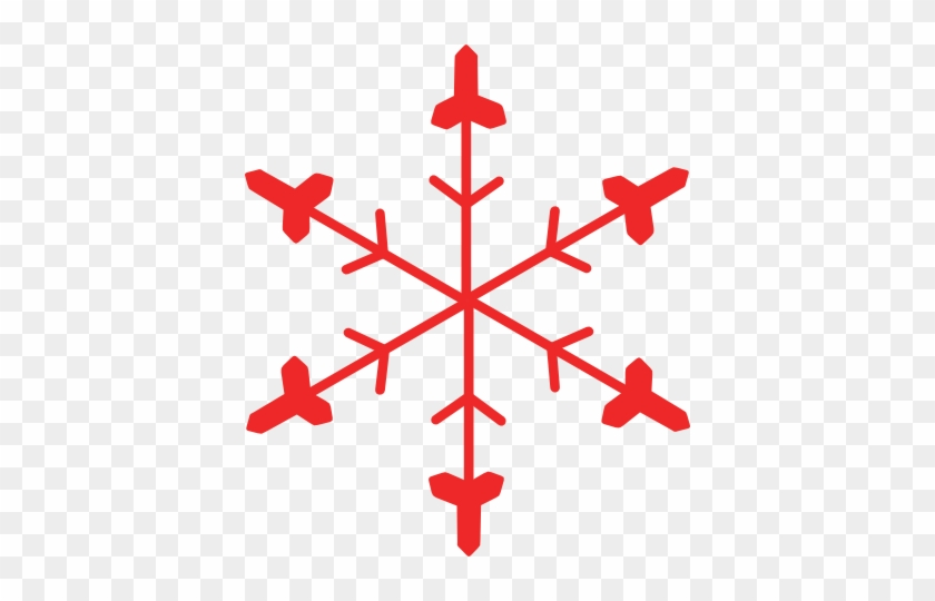 Red Snowflake Cliparts - Optical Illusion Drawing Ideas #146755