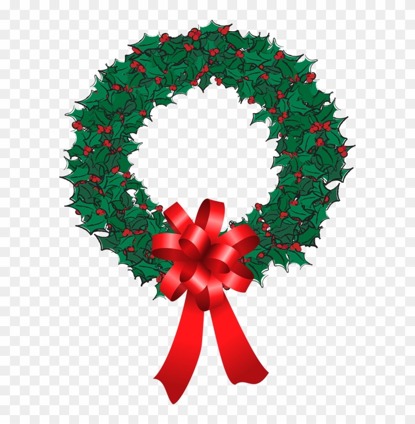 A Debate On The Nativity For Christmas - Christmas Holly Wreath Png #146787
