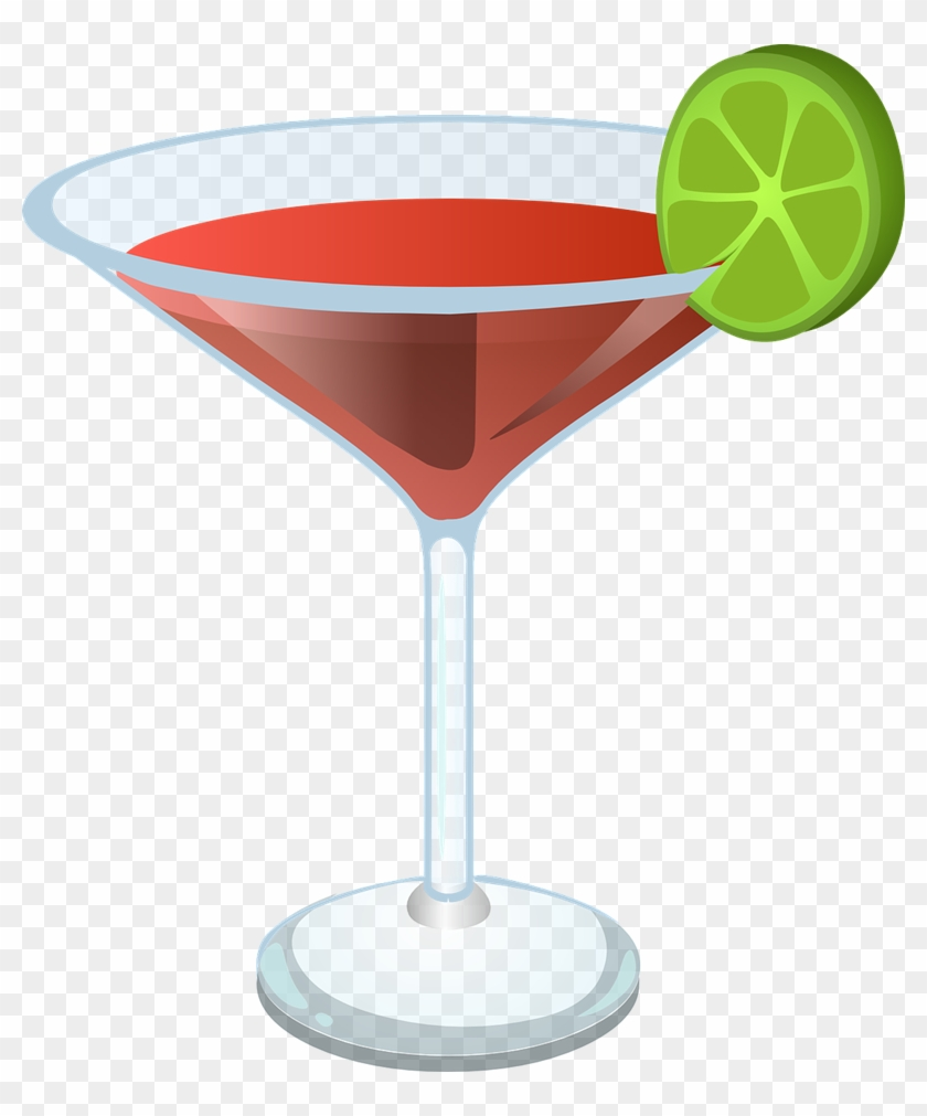 free christmas cocktail clipart martini clipart transparent background - Christmas Martini Glasses