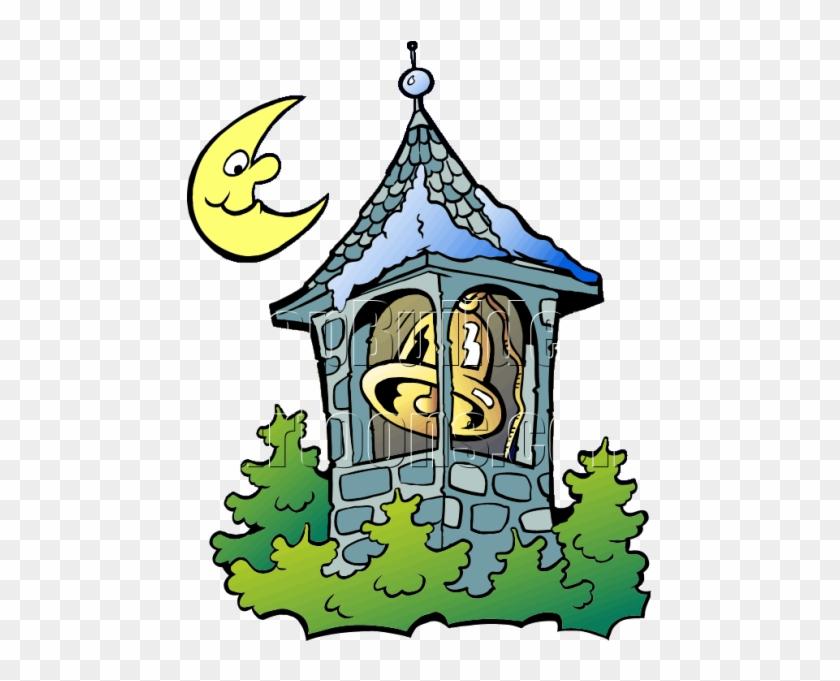 Bell Tower Cartoon Png #146842