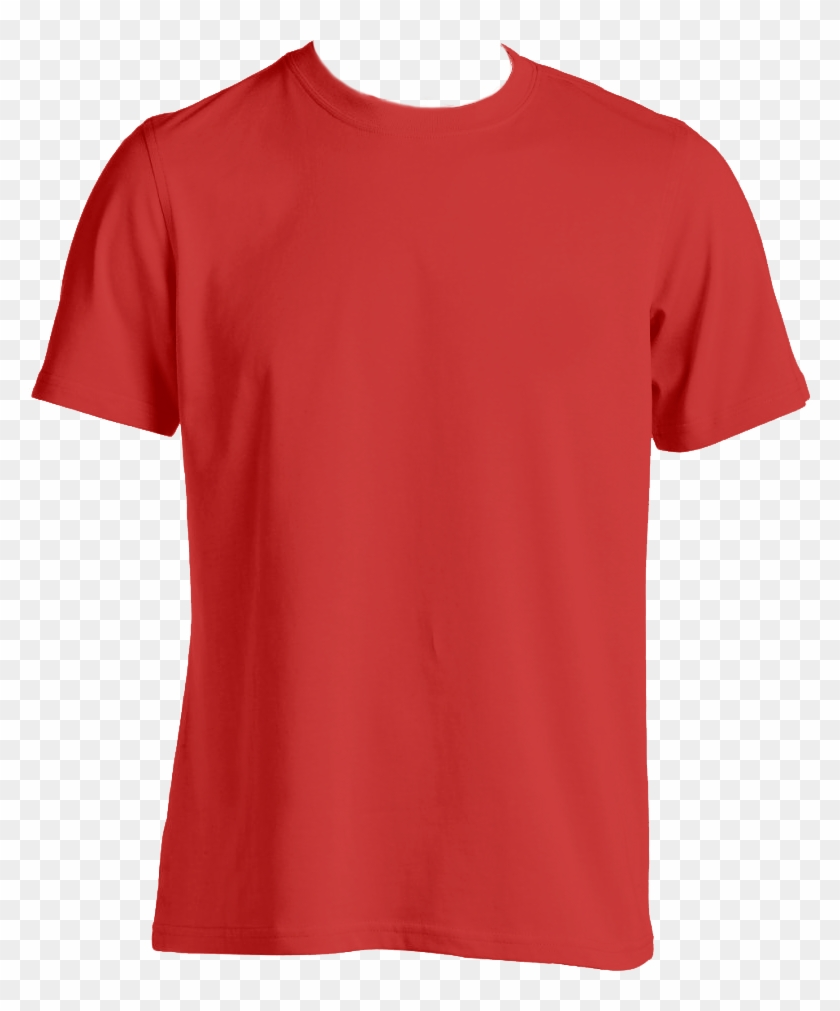 Custom T Shirt Mens Red Red T Shirt Template Png Free