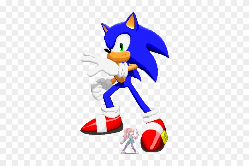 Sonic The Pixel Art Hog By Greenjack21 Shadow The Hedgehog Sonic Free Transparent Png Clipart Images Download