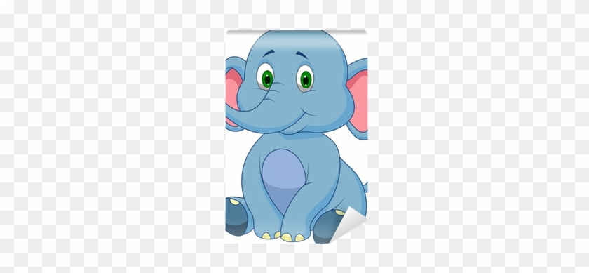 Cute Baby Elephant Cartoon #769822
