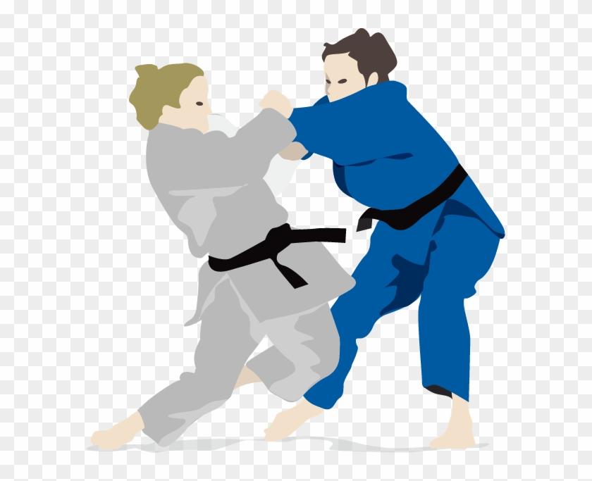 Judo Icon - Wrestling - Judo Transparent Clip Art - Free Transparent