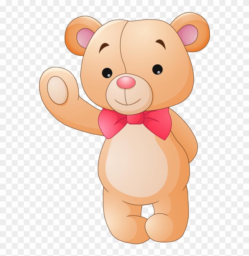 Teddy Bear Cartoon Stuffed Toy Drawing - Vector Teddy Bear Free #771302