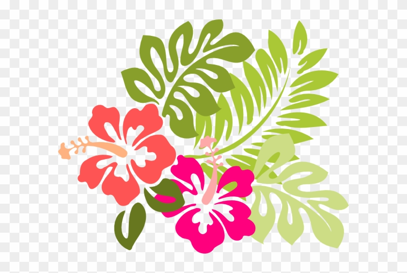 Hibiscus Flower Silhouette Download Hibiscus Clipart Free