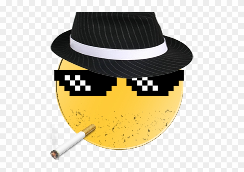 Hat Clipart Thug Life - Mlg Glasses - Free Transparent PNG Clipart