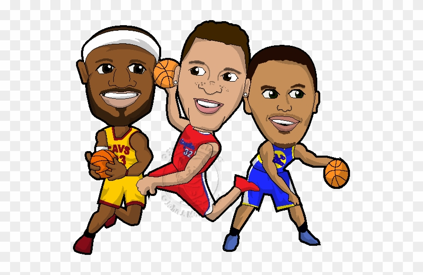 Curry Lebron Cartoon Nba Stephen Curry Coloring Pages Free