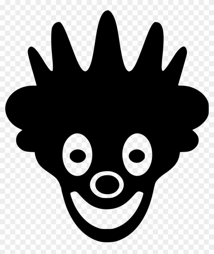Mask Hero Smile Face Woman Comments - White Clown Icon Png #772308