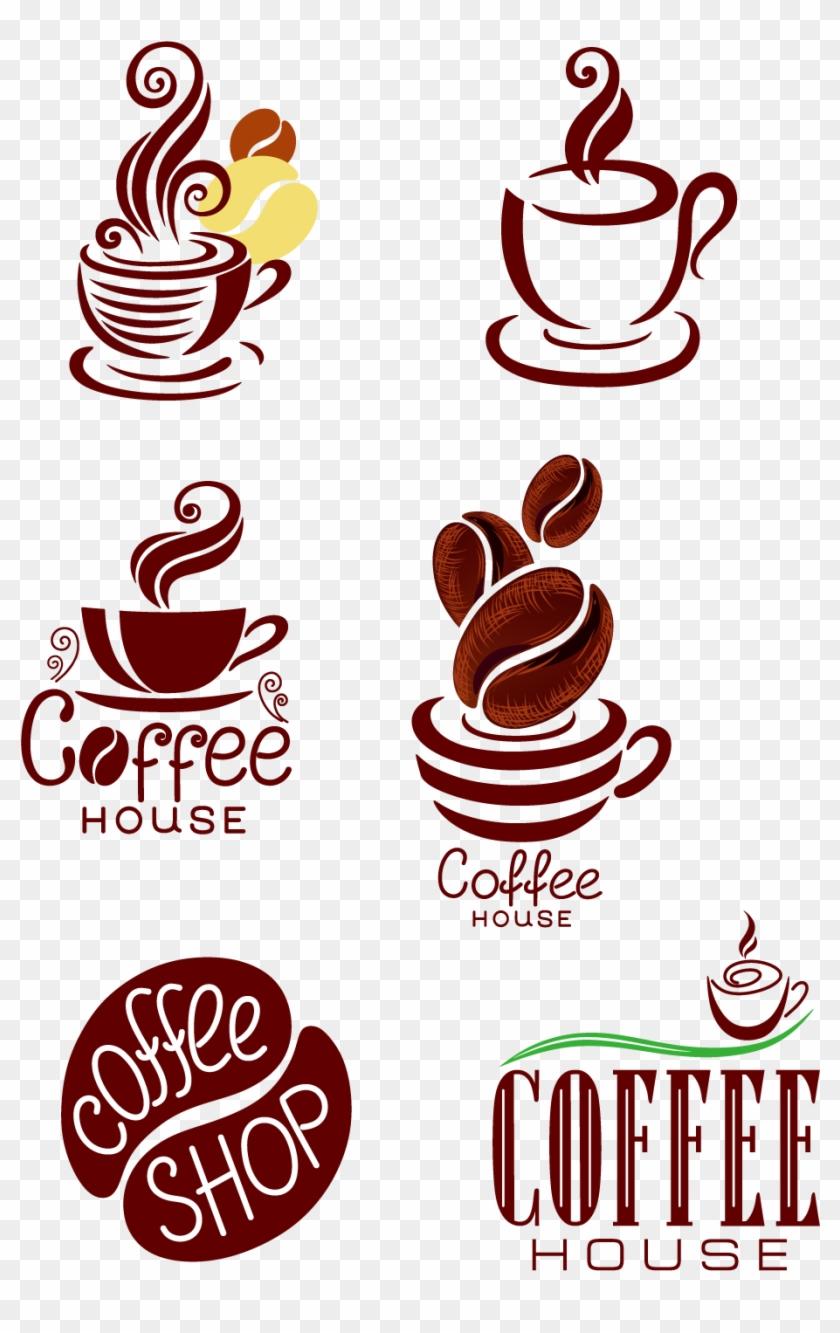 Coffee Cafe Espresso Latte Macchiato Tea - Creative Coffee Shop Logo #772489