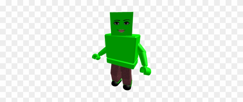 Lime Woman Face Blockhead Colorbot - Roblox T Shirt Jacket