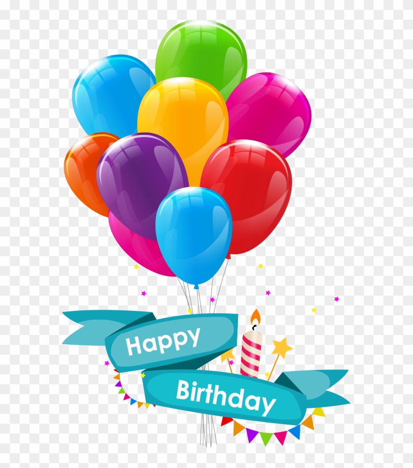 Wedding Invitation Happy Birthday To You Greeting Card - Happy Birthday Balloons Png #772882