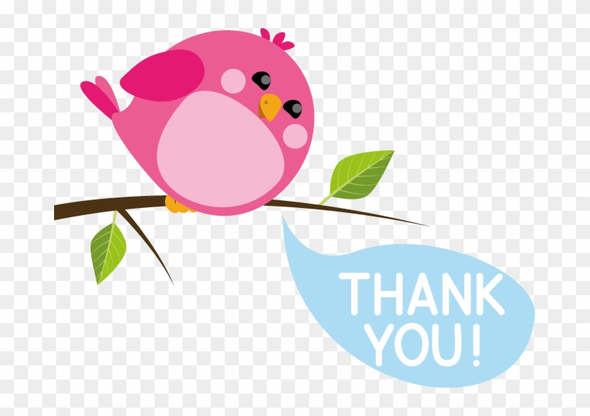 Thanks Birdy Cute Thank You Message Free Transparent Png Clipart Images Download
