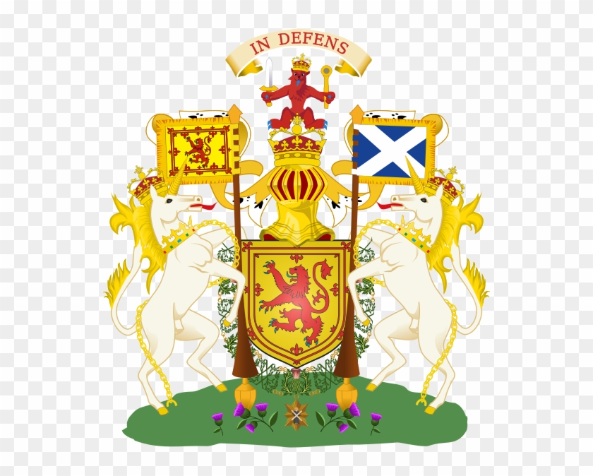 On The Union Of The Crowns, The Arms Were Quartered - Unicorn National Animal Of Scotland #774233