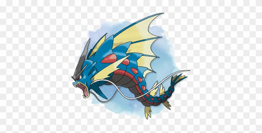 How Is This Not A Dragon Pokemon Xy Mega Gyarados Free Transparent Png Clipart Images Download