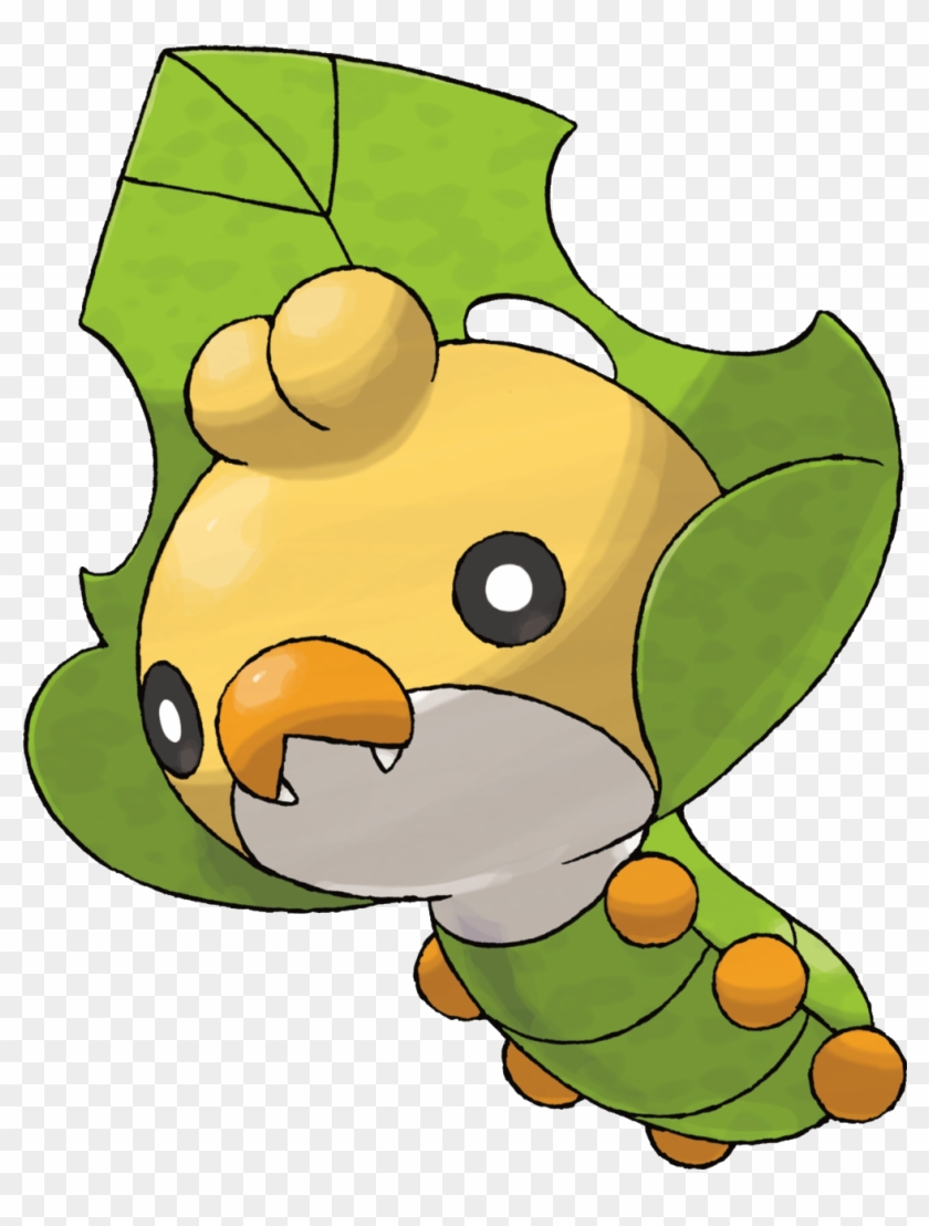 Grass Bug Grass Type Pokemon Free Transparent Png Clipart Images