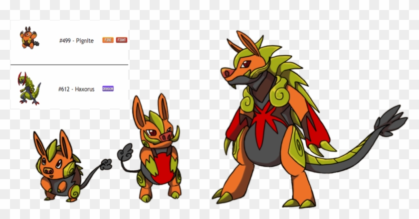 Fakemon Fusion Fire/dragon By Eternity9 - Fire And Ice Fusion #774861