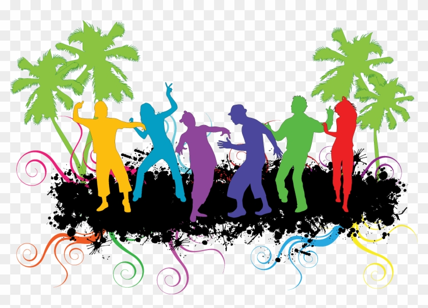 Abstract, Background, Boy, Casual, Celebrate, Celebration, - Dance Party Clipart #776552