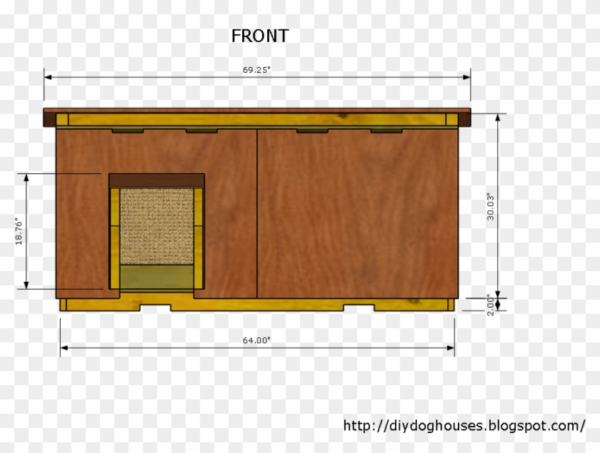 Dog House Plans Concept Insulated Dog House 2 Inside